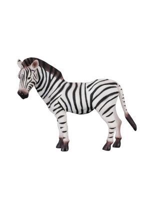 Зебра L 13 см Collecta. Цвет: белый, черный
