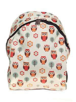 Рюкзак ПодЪполье. Цвет: белый, зеленый, красный, оранжевый
