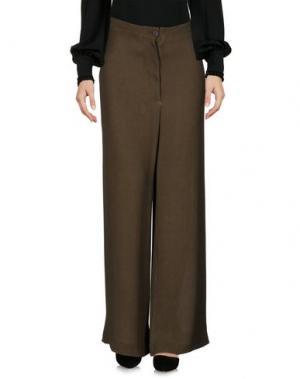 Повседневные брюки KristenseN DU NORD. Цвет: зеленый-милитари