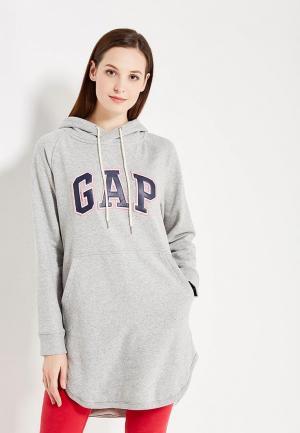 Туника Gap. Цвет: серый