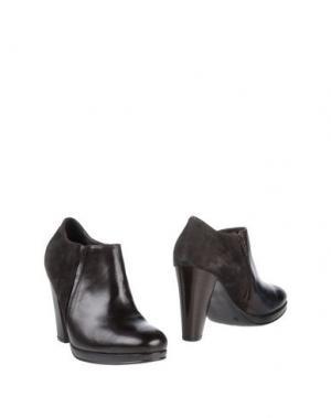 Ботинки PROGETTO GLAM. Цвет: темно-коричневый