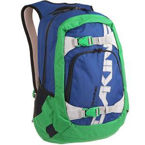 Рюкзак спортивный  Explorer 26 L Portway Dakine. Цвет: синий,зеленый
