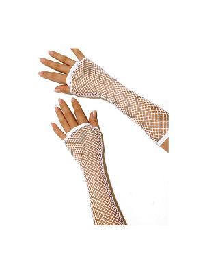 Перчатки Electric Lingerie. Цвет: белый