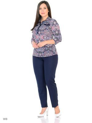 Блузка, модель Нила Dorothy's Нome. Цвет: черный, голубой, розовый