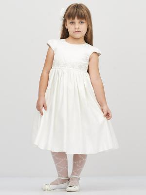 Платье Baby Moses. Цвет: молочный