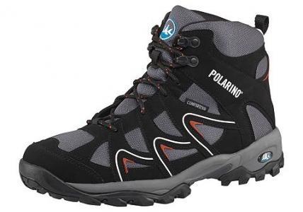 Спортивная обувь Polarino. Цвет: черный + серый