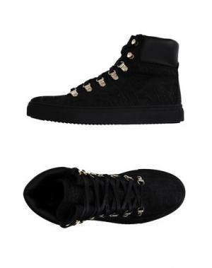 Высокие кеды и кроссовки STOKTON. Цвет: черный