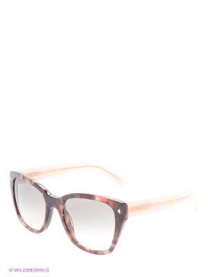 Солнцезащитные очки PRADA. Цвет: розовый
