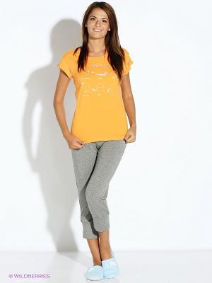 Пижама PELICAN. Цвет: оранжевый