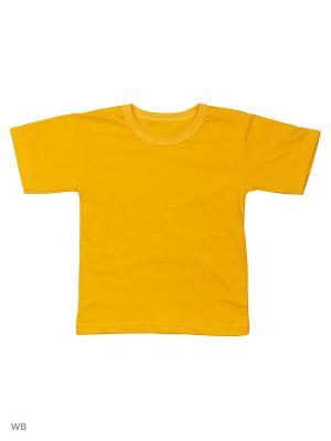 Футболка Babycollection. Цвет: светло-оранжевый
