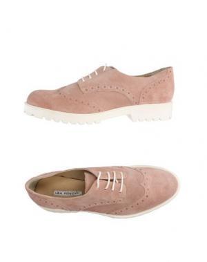 Обувь на шнурках LEA FOSCATI. Цвет: светло-коричневый