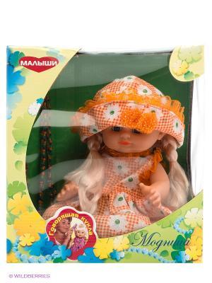 Кукла Модница, 35см DREAM MAKERS. Цвет: оранжевый