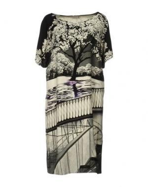 Короткое платье MARY KATRANTZOU. Цвет: слоновая кость