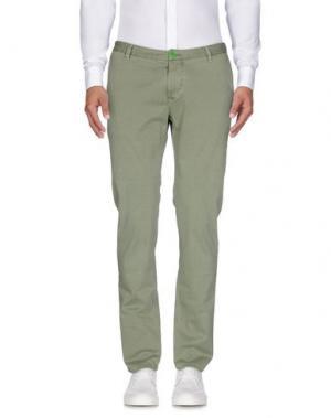 Повседневные брюки DIMATTIA. Цвет: зеленый
