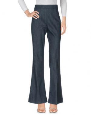 Джинсовые брюки MAESTA. Цвет: синий
