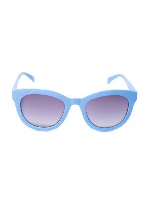 Солнцезащитные очки Mitya Veselkov. Цвет: синий