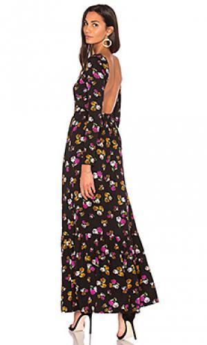 Макси платье bethany Clayton. Цвет: черный