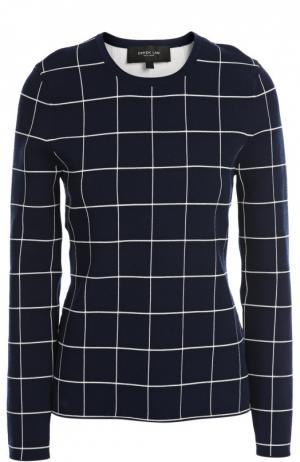 Вязаный пуловер Derek Lam. Цвет: темно-синий