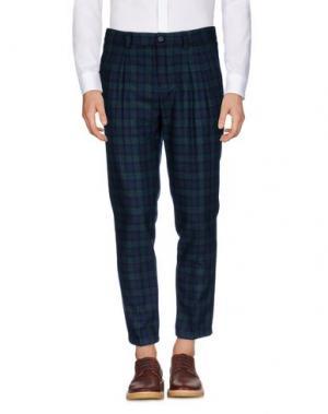 Повседневные брюки ..,BEAUCOUP. Цвет: темно-зеленый