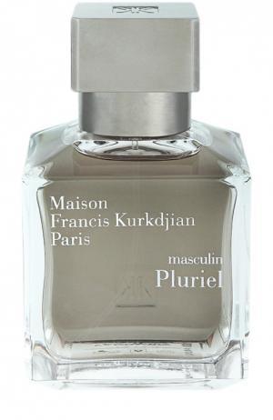 Туалетная вода Pluriel Maison Francis Kurkdjian. Цвет: бесцветный
