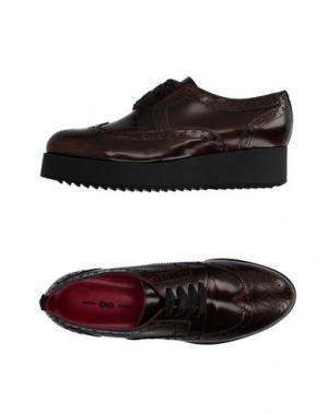 Обувь на шнурках 181 BY ALBERTO GOZZI. Цвет: коричневый