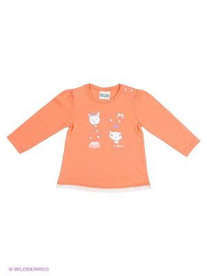 Кофточка Sanetta. Цвет: оранжевый