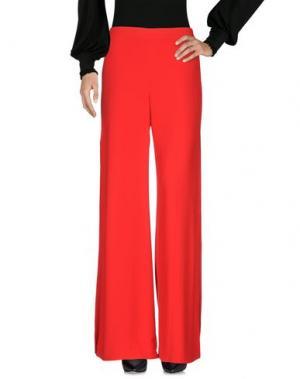 Повседневные брюки ALEXIS. Цвет: красный
