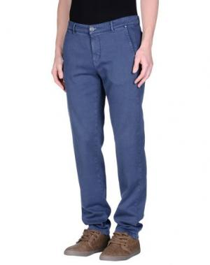 Повседневные брюки JCOLOR. Цвет: грифельно-синий