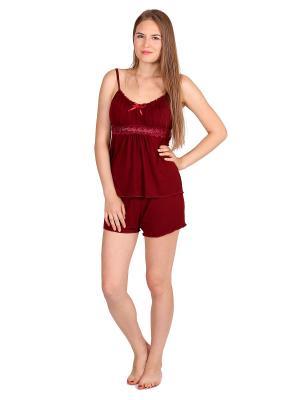 Пижама Startale. Цвет: бордовый