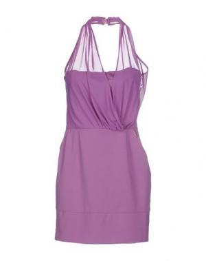 Короткое платье TOY G.. Цвет: розовато-лиловый