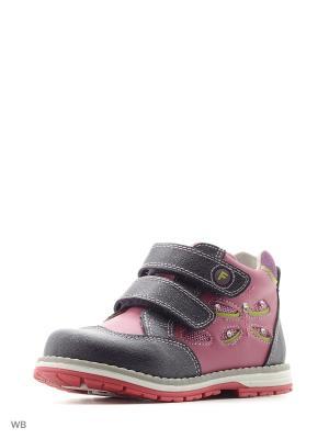 Ботинки Flamingo. Цвет: темно-фиолетовый, фиолетовый