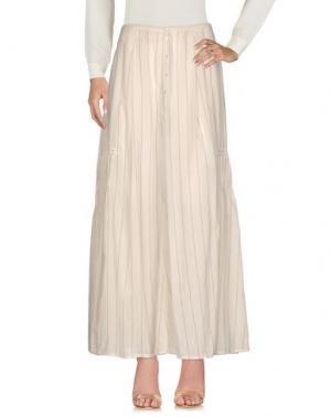 Длинная юбка LOCAL APPAREL. Цвет: бежевый