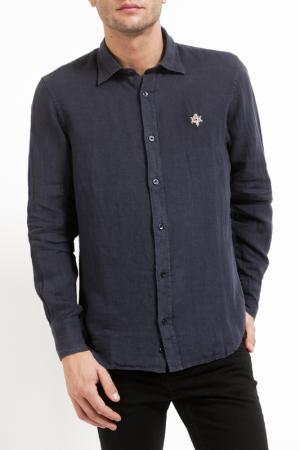 Рубашка Pierre Balmain. Цвет: navy blue