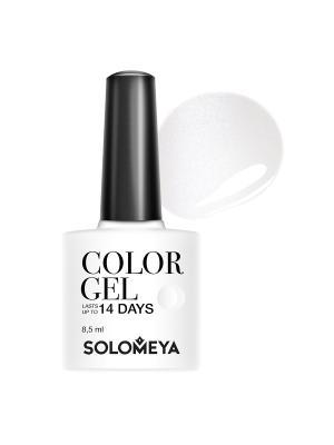 Гель-лак Color Gel Marie SCGW001/Мэри SOLOMEYA. Цвет: белый