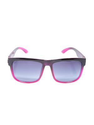Солнцезащитные очки Mitya Veselkov. Цвет: черный, фиолетовый