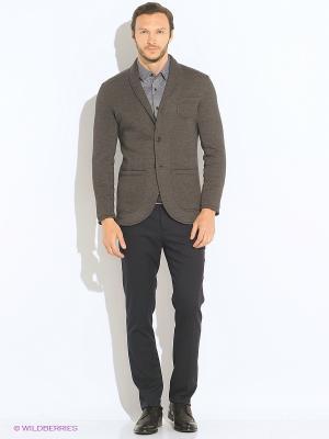 Пиджак Пряник. Цвет: серый