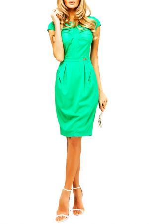 Платье BEZKO. Цвет: ментоловый