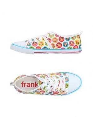 Низкие кеды и кроссовки PAUL FRANK. Цвет: белый