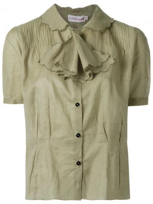Short sleeves shirt Isabela Capeto. Цвет: телесный