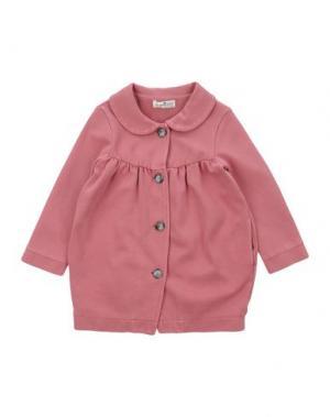 Легкое пальто LE PETIT COCO. Цвет: розовый