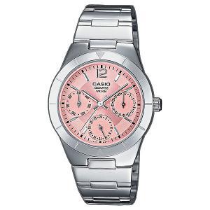 Часы  Collection Ltp-2069d-4a Silver/Pink Casio. Цвет: серый,розовый