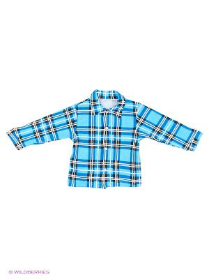 Рубашка Babycollection. Цвет: индиго