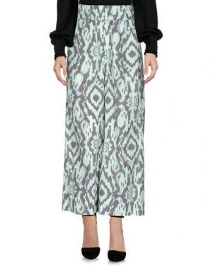 Повседневные брюки LA FABRIQUE. Цвет: светло-зеленый