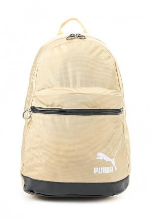 Рюкзак PUMA. Цвет: бежевый