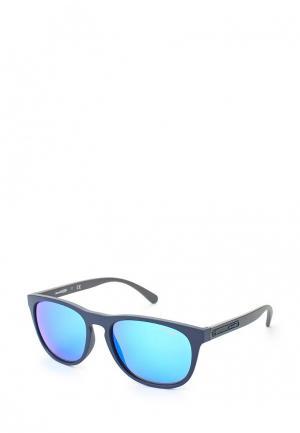 Очки солнцезащитные Arnette. Цвет: синий