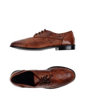 Обувь на шнурках KUDETÀ. Цвет: коричневый