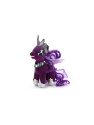 Мягкая Игрушка Мульти-Пульти my little pony. принцесса Луна. Цвет: фиолетовый