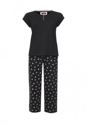 Пижама Evans. Цвет: черный