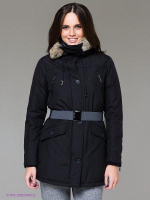 Куртка SILVIAN HEACH. Цвет: черный
