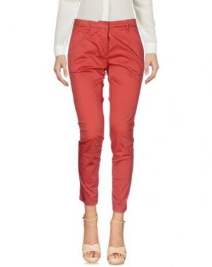Повседневные брюки GABARDINE. Цвет: ржаво-коричневый